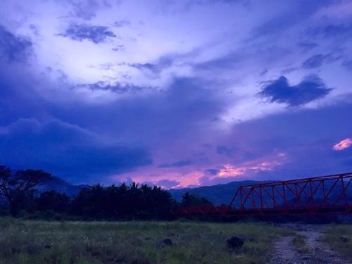 Purple skies ahead.